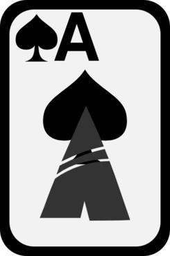 Ace Of Spades clip art