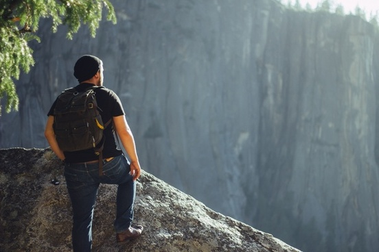 action adult adventure climber climbing daytime