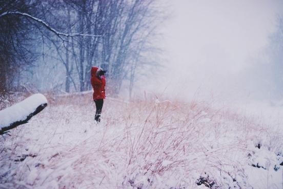 action adult cold forest frozen ice landscape