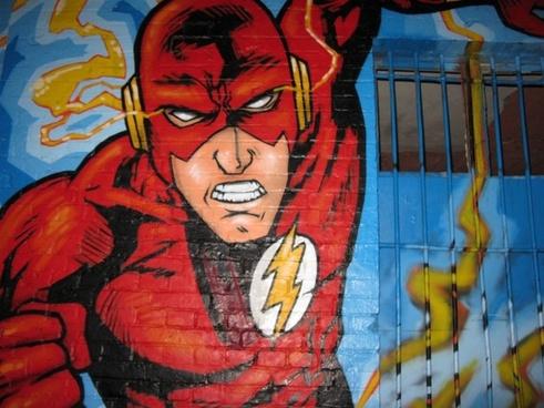 action hero graffiti berlin