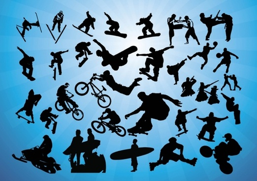 Action Sports Vectors