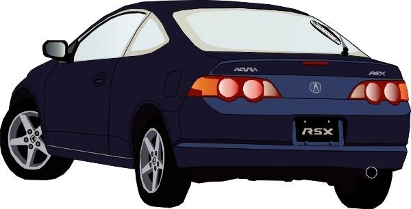 Acura Car clip art
