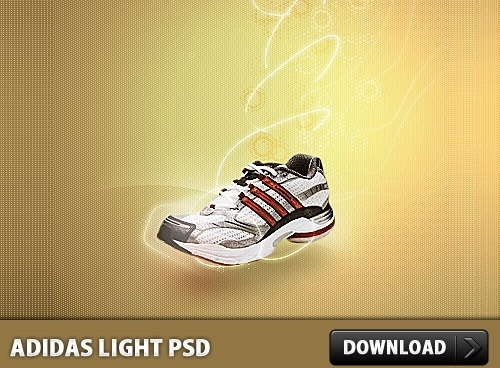 Adidas Light PSD file