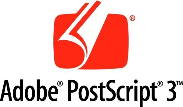 adobe postscript 3 0