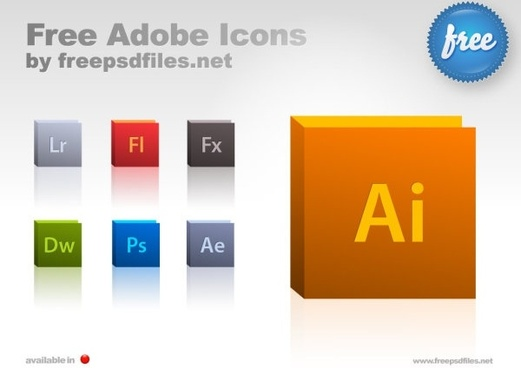 adobe software iconpsd layered