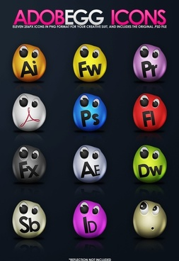 AdobeEgg Icons icons pack