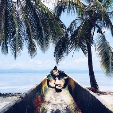 adult beach coast exotic holiday leisure one