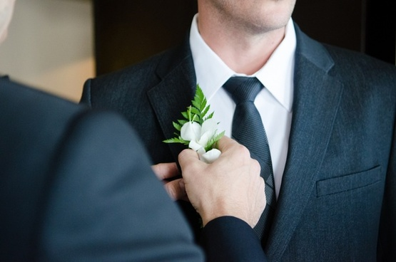 adult boutonniere bride business ceremony clothes
