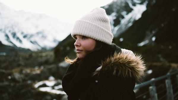 adult cap clothing cold hat headgear leisure light