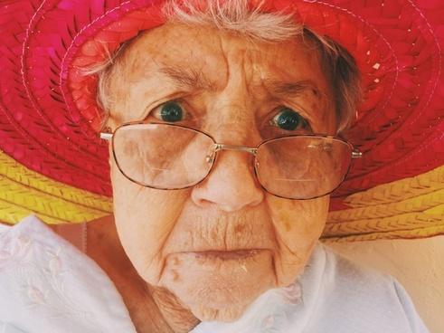 adult clothing elderly eyeglasses eyes face facial