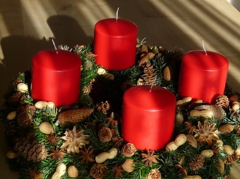 advent wreath advent candles