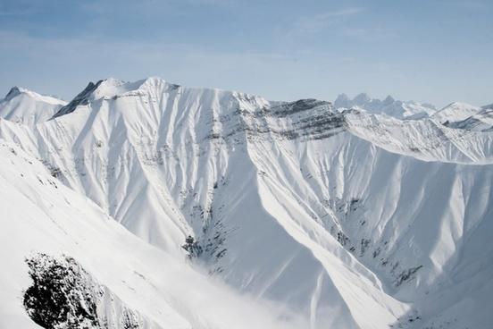 adventure arctic avalanche backcountry cold glacier