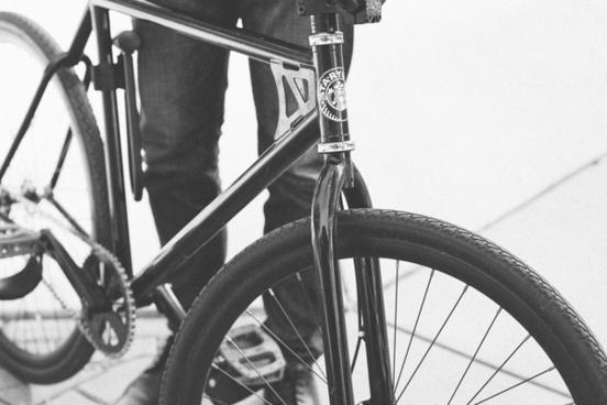 adventure bicycle bike black and white bridge cycle