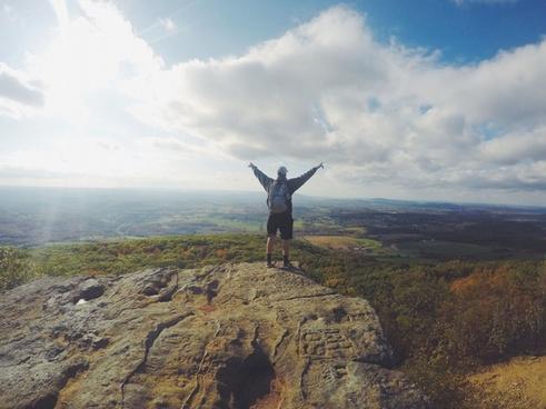 adventure daytime distance freedom grassland