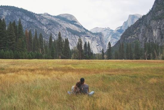 adventure daytime forest grass grassland hiking