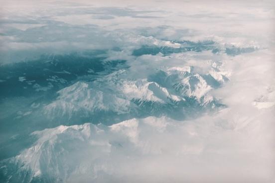 aerial aeroplane air airplane cloud cold down