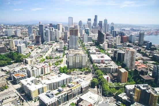 aerial apartment architecture building capital center