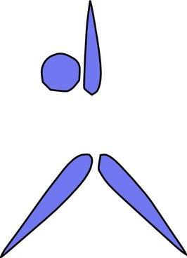 Aerobics Exercising clip art