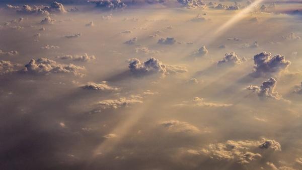 aeroplane air airplane cloud evening landscape light