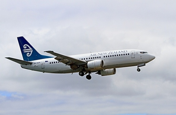 aeroplane boeing 737 air new zealand