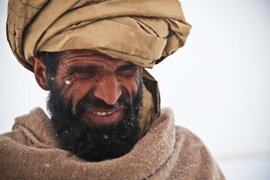 afghani man portrait