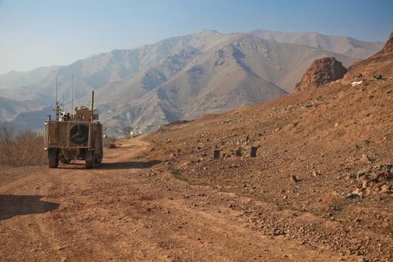 afghanistan humvee deployment
