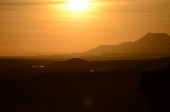 afghanistan landscape sun