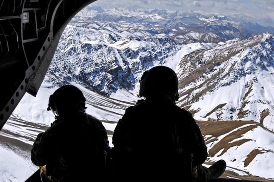 afghanistan landscape winter