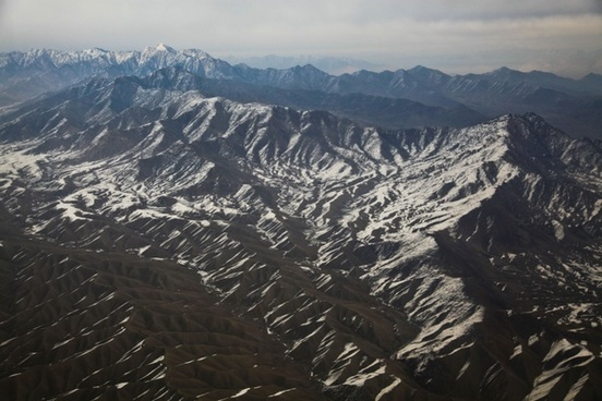 afghanistan mountains helicopter ride