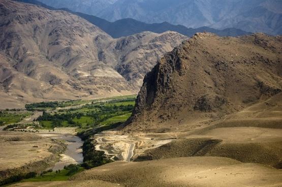 afghanistan mountains landscape