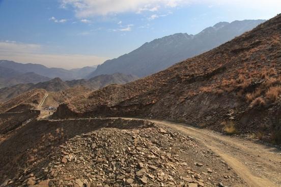 afghanistan remote road