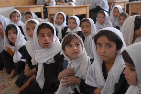 afghanistan school classroom
