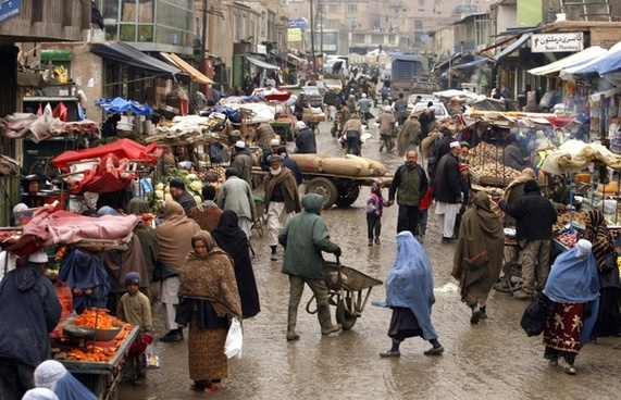 afghanistan town city