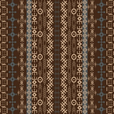 african traditional pattern background 03 vector