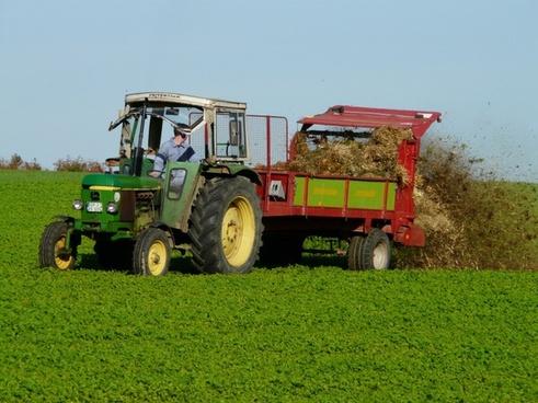 agriculture tractor fertilize