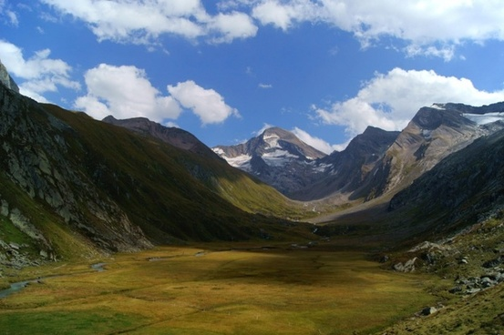 ahrntal valley south tyrol mountains