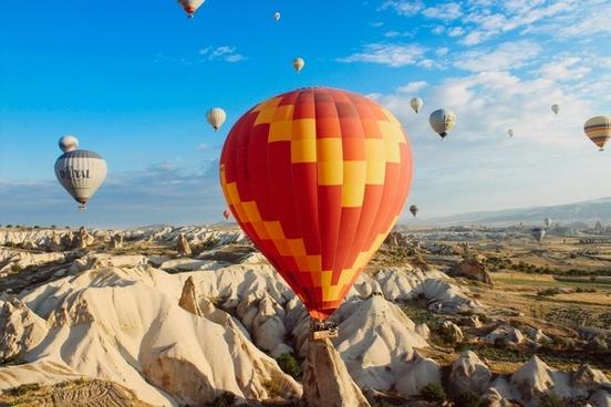 air aircraft airship balloon cappadocia fire fly