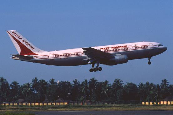 air india airbus a300b4 203 vt ehq december 1998