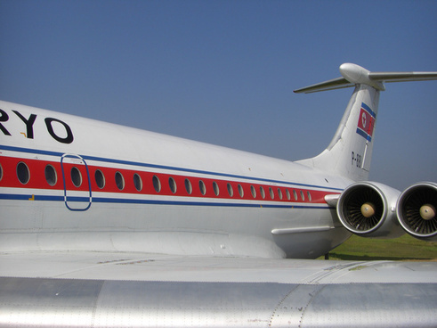 air koryo plane sunan airport north korea
