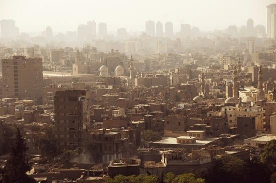 air pollution architecture building city cityscape