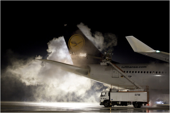 airbus a340 300 deicing
