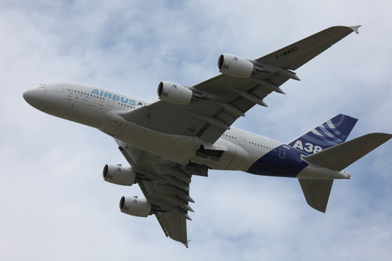 airbus a380 takeoff