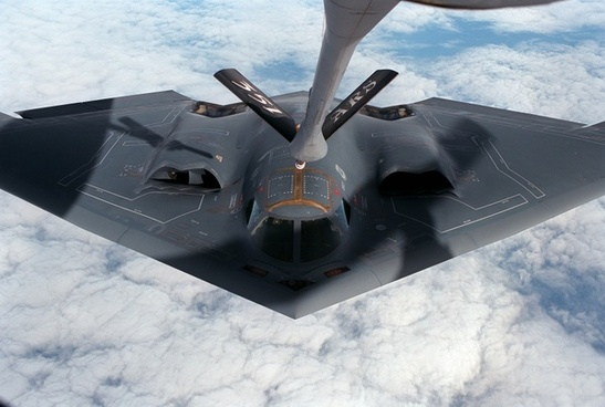 aircraft delta wing stealth bomber