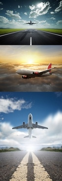aircraft flying in the sky 1 hd picture