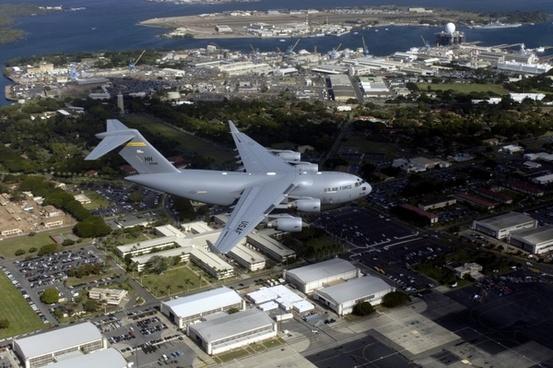 aircraft jet c-17 globemaster iii