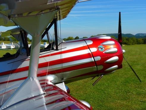 aircraft propeller plane fly