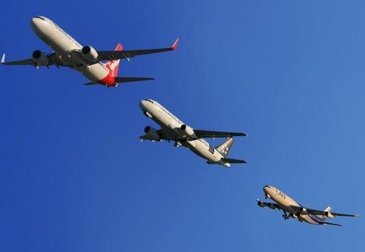 aircraft qantas air new zealand