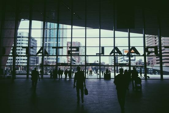 airport architecture building business departure