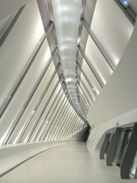 airport architecture ceiling contemporary empty