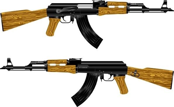 Ak Rifle clip art